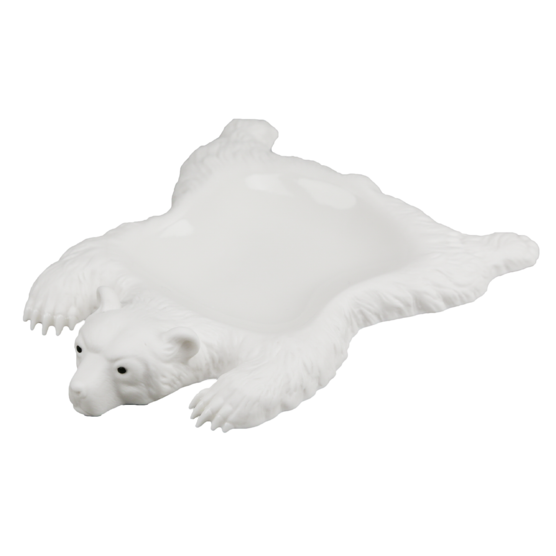 Мелочница МЕДВЕДЬ. Белый