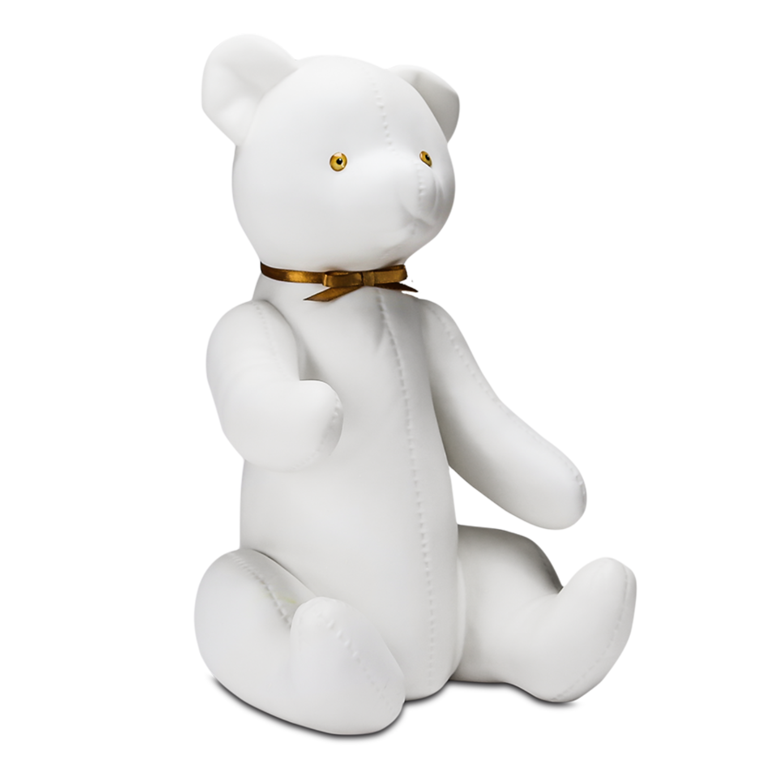 """Скульптура фарфоровая Rupor """"Медведь 1959 год"""", голубые глаза"""