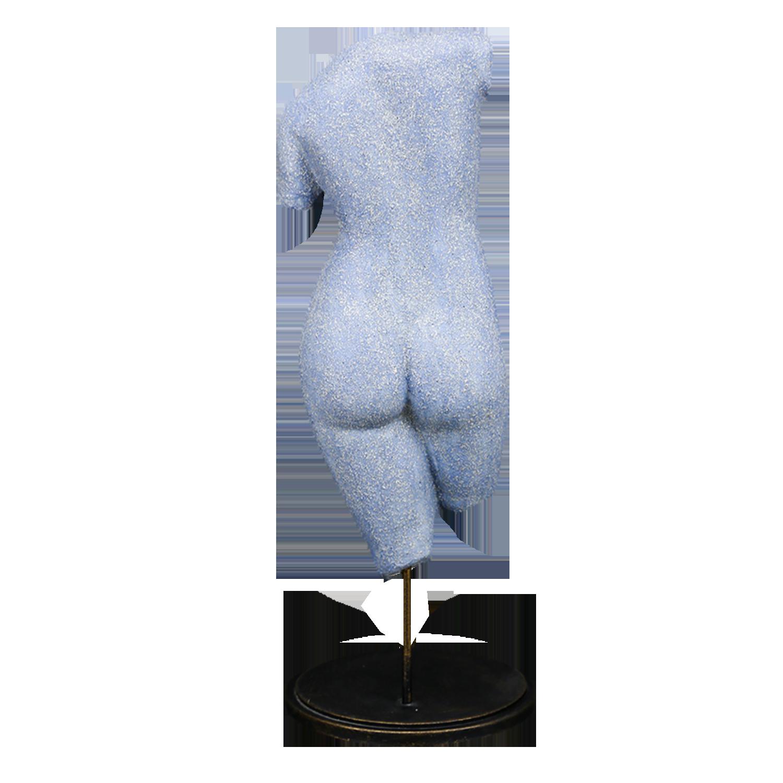 """Скульптура фарфоровая Rupor """"Венера Древняя Греция"""" синий песок"""