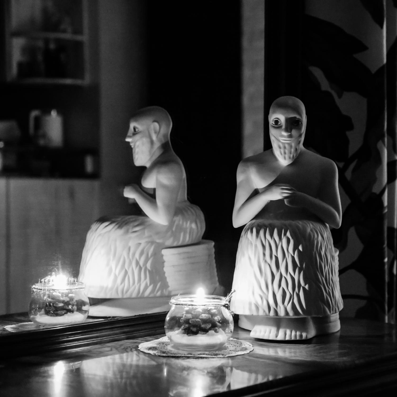 """Скульптура фарфоровая Rupor """"Эбих Иль Древняя Месопотамия"""""""
