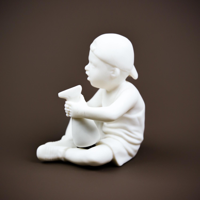 """Скульптура """"Водолей"""" бисквит"""
