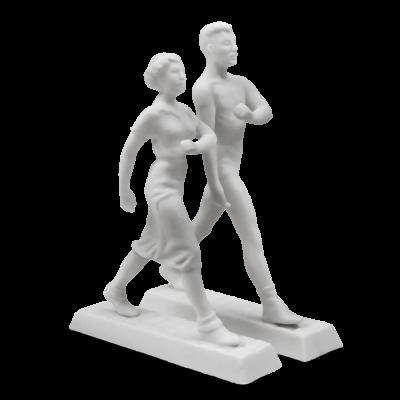 """Скульптура фарфоровая Rupor """"Идущие"""""""