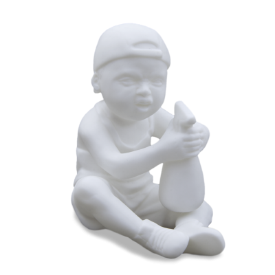 """Скульптура фарфоровая Rupor """"Водолей"""" бисквит"""