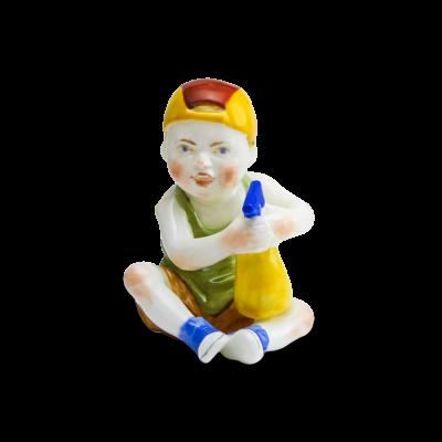 """Скульптура фарфоровая Rupor """"Водолей"""" роспись"""